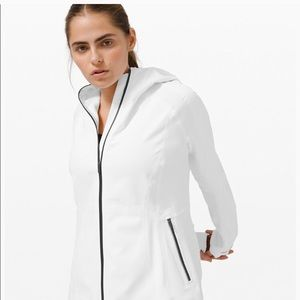 NWT cross chill jacket in white sZ 4